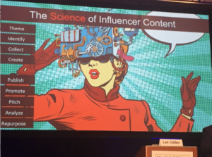 Lee Odden Science of Influencer Contnt